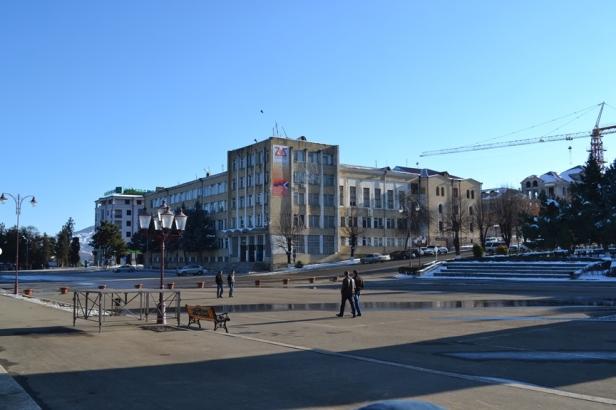 Plaza del Renacimiento de Stepanakert