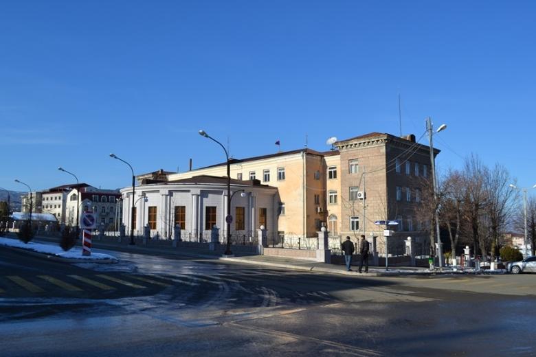 Parte trasera del Palacio Presidencial