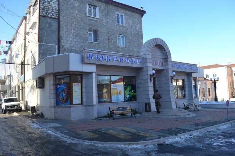 Supermercado en el Centro de Stepanakert