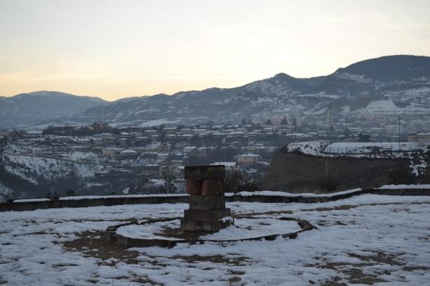 Cementerio en el Complejo memorial de Stepanakert