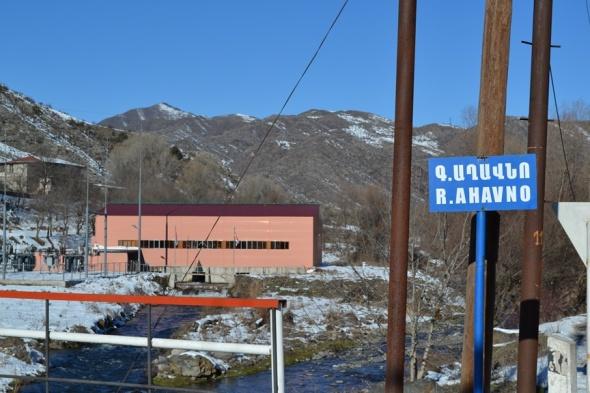 Acueducto en la Frontera entre Armenia y Nagorno-Karabakh