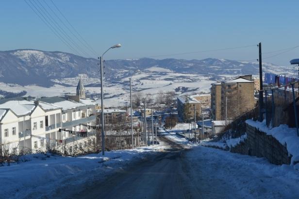 Calle principal de Shushi, Nagorno-Karabakh