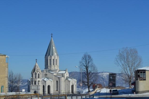 Iglesia en Shushi, Nagorno-Karabakh