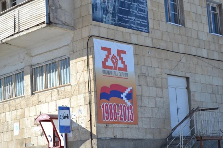 "Celebración de la ""Independencia"" de Nagorno-Karabakh en Shushi"