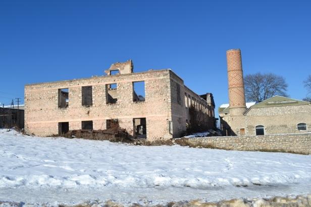 Ruinas en Shushi, Nagorno-Karabakh
