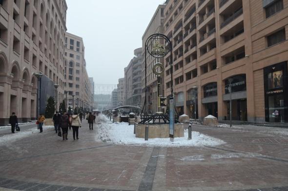 Llaves de la ciudad de Yereván en la Avenida del Norte