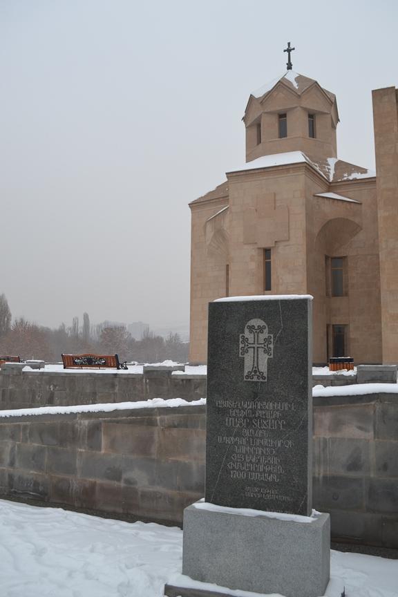 Catedral de San Gregorio el Iluminador en Yereván, Armenia