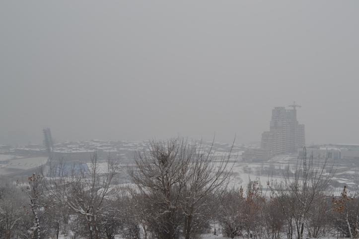 Yereván vista desde el Museo del Genocidio Armenio