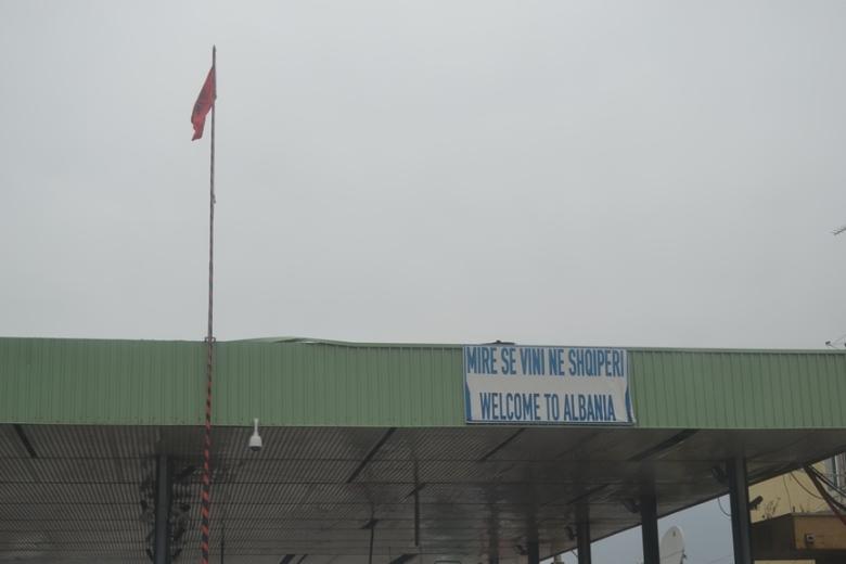 Frontera entre Kosovo y Albania