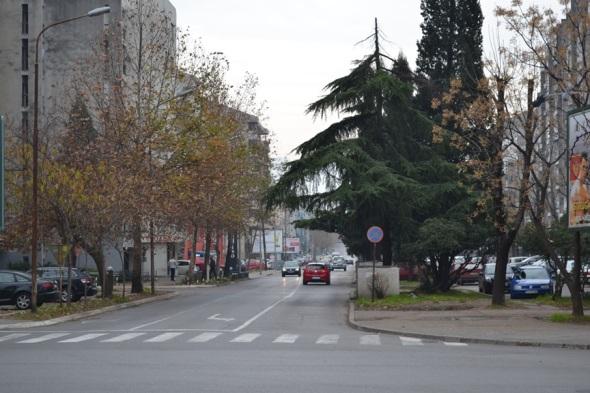 Barrios residenciales frente a la Torre del Reloj