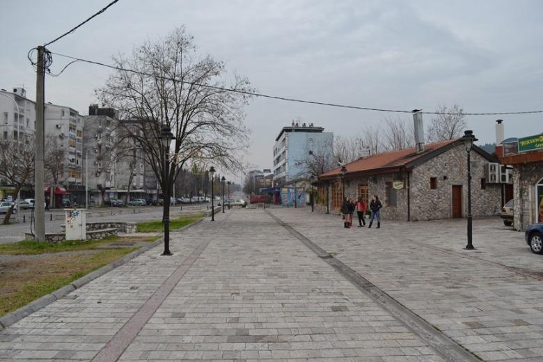 Plaza frente a la Torre del Reloj