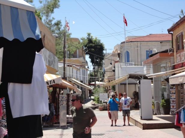 Calle Ledra desde el lado turcochipriota (Fuente: Sherlock)
