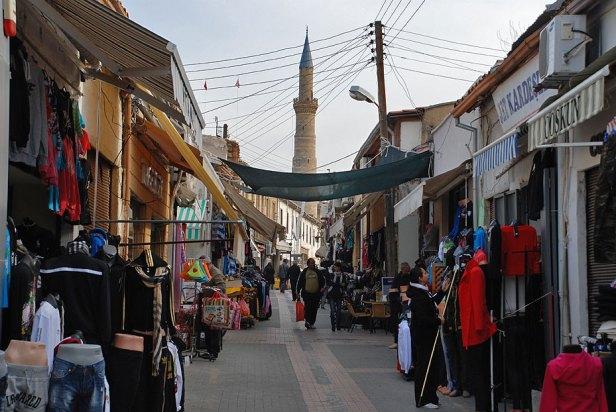 Calles de Nicosia turcochipriota