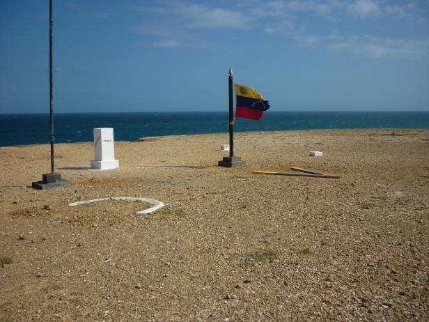 Frontera entre Colombia y Venezuela en Puerto López, Colombia / Colombia - Venezuela Border in Puerto López, Colombia / Por: Catalina Suárez (Colombia)
