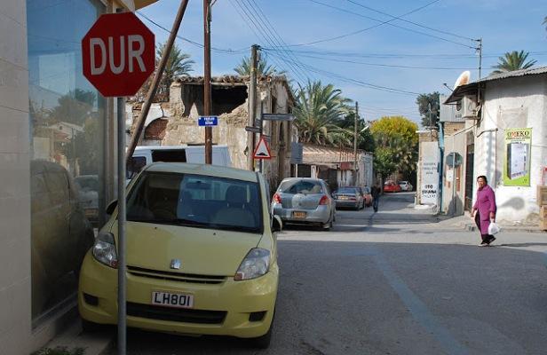 Señal de stop en turco