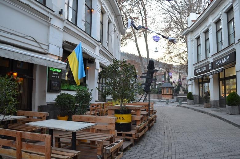 Centro de Tbilisi, Georgia / Downtown Tbilisi, Georgia / Por: Blog de Banderas