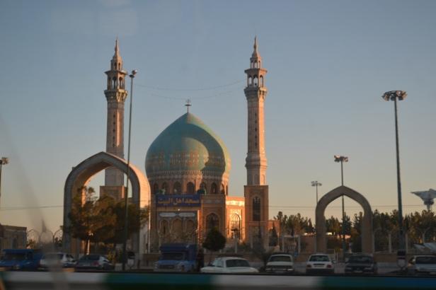 Mezquita en la Vía Teherán - Isfahán