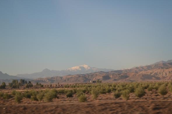 Vía Teherán - Isfahán