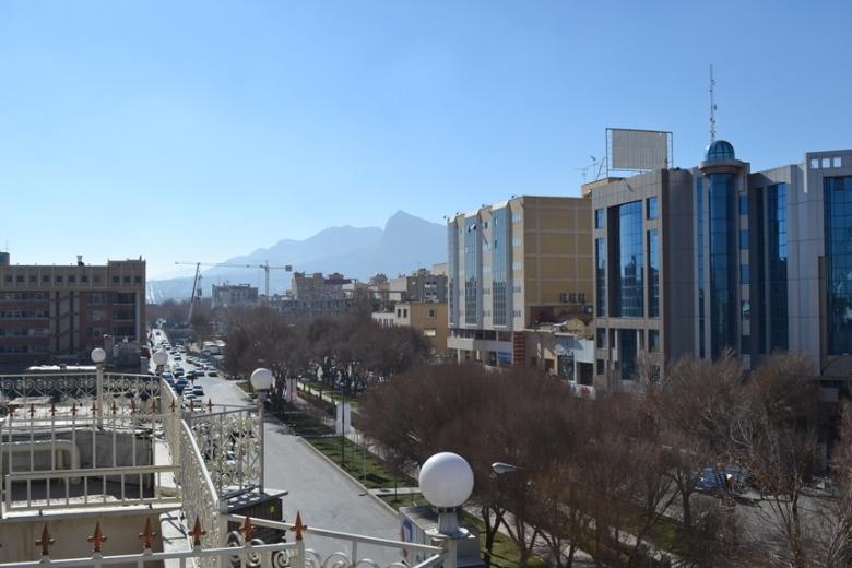 Panorámica de Isfahán