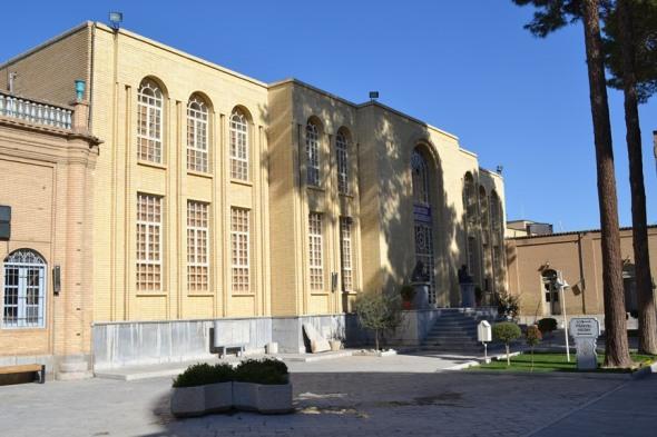 Museo en el interior de la Catedral de Vank