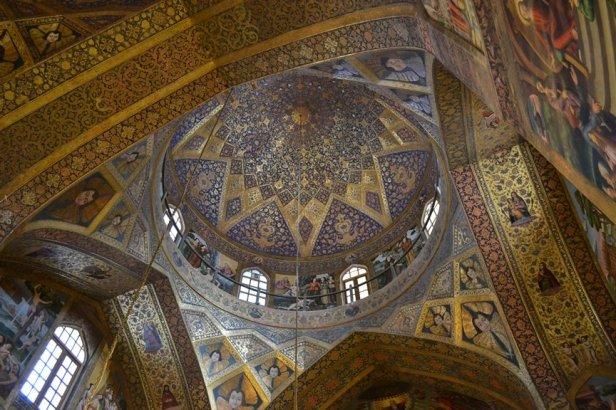 Interior de la Catedral de Vank