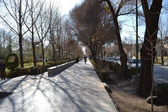 Entrada al Palacio de Chehel Sotoun