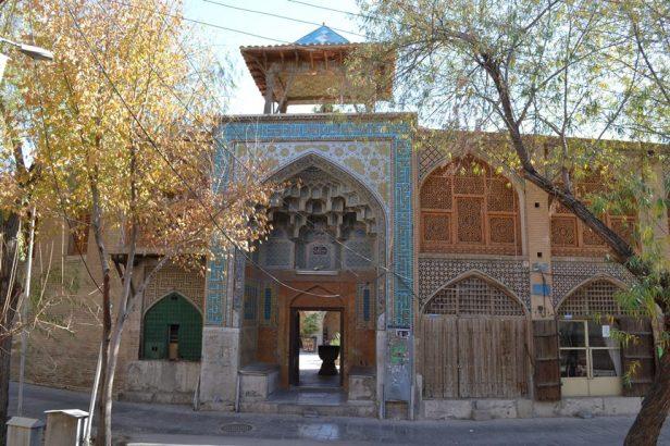 En las calles de Isfahán