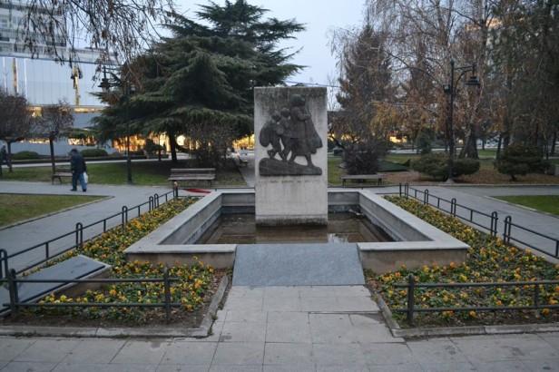 Parque de los Héroes Caídos en Skopje