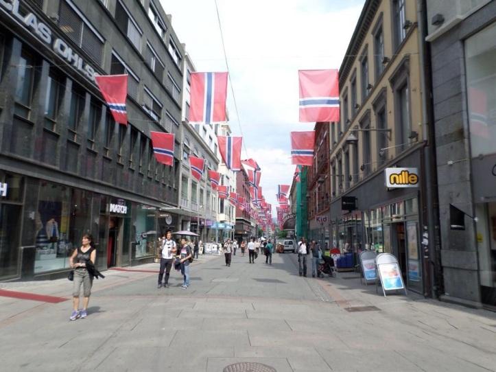 Bandera de Noruega - Oslo, Noruega / Flag of Norway - Oslo, Norway / Por: Joel Fernández (@anden4) (Colombia)