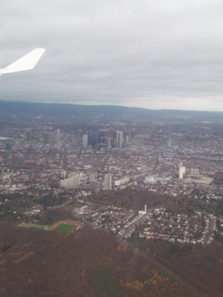 Aterrizando en Frankfurt, Alemania (Cortesía: Aviación y Turismo)