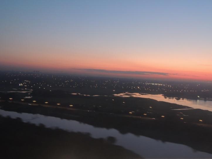 Descendiendo hacia el Aeropuerto Internacional JFK de Nueva York (Cortesía: Montserrat Saavedra)
