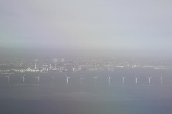 Descendiendo hacia el Aeropuerto Internacional de Copenhague en Dinamarca (Cortesía: Mauricio Duque)