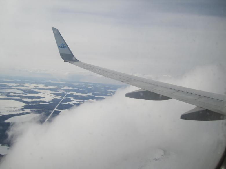 Aterrizando en San Petersburgo, Rusia (Cortesía: Aviación y Turismo)