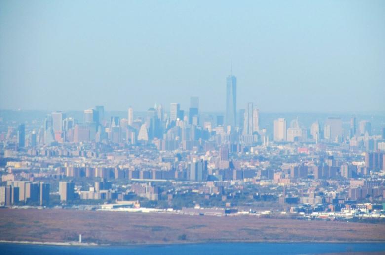 Descenso hacia el Aeropuerto Internacional JFK de Nueva York (Cortesía: Ricardo Gutiérrez)