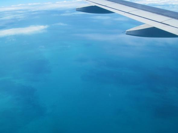 A punto de aterrizar en el Aeropuerto Internacional José Martí de La Habana, Cuba (Cortesía: Ricardo Gutiérrez)