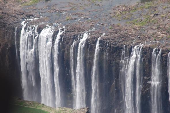Cataratas Victoria entre Zambia y Zimbabwe