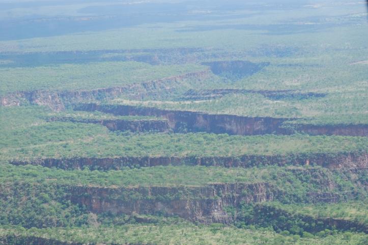 Antiguos lugares donde estaban Cataratas Victoria entre Zambia y Zimbabwe