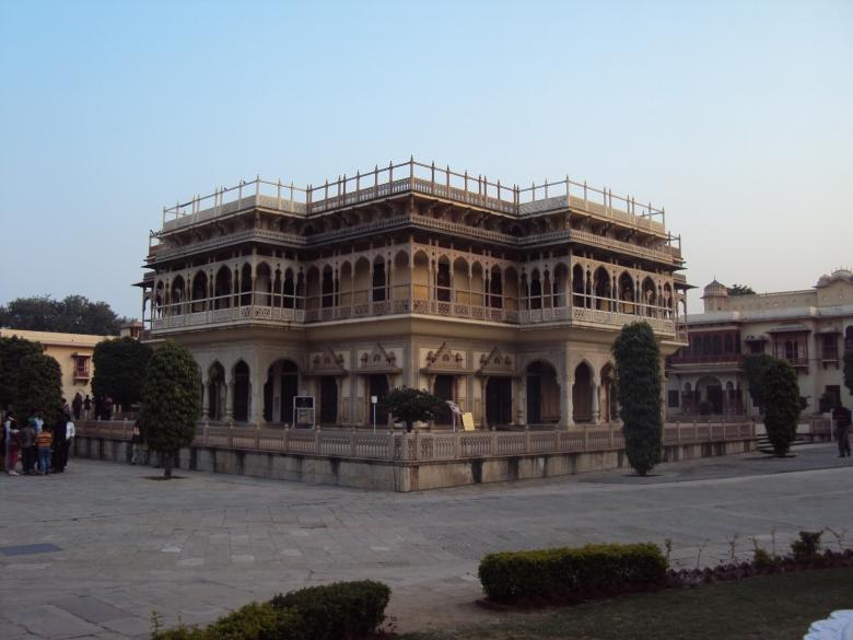 Palacio de la Ciudad en Jaipur, India
