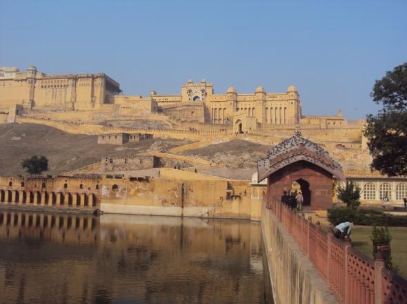 Fuerte Amber en Jaipur, India