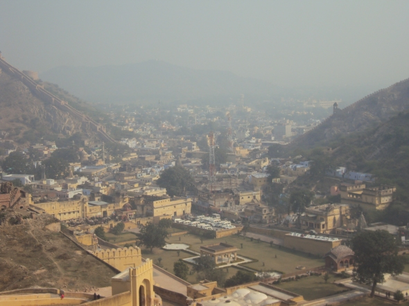 Jaipur vista desde el Fuerte Amber