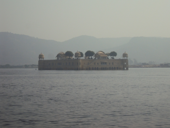 Palacio del Agua en Jaipur, India