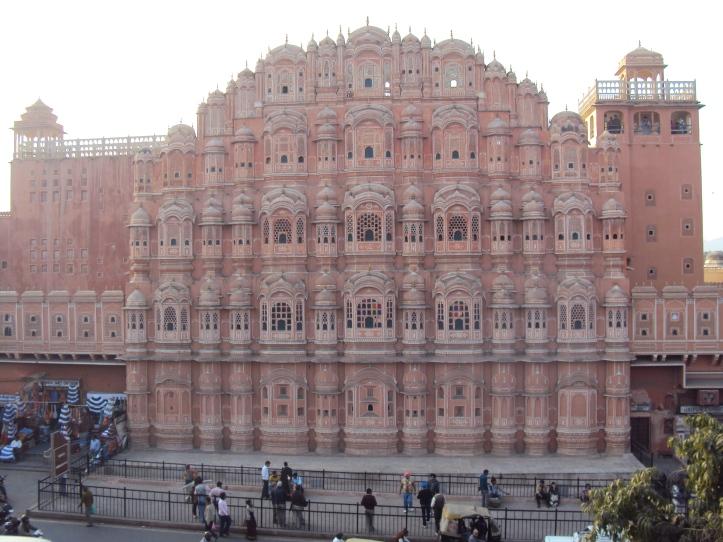 Palacio de los Vientos en Jaipur, India