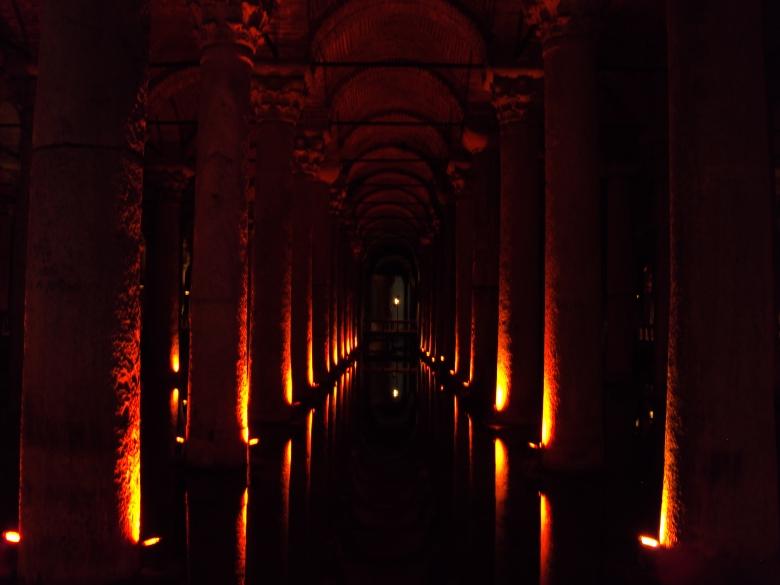 Basílica Cisterna en Estambul, Turquía