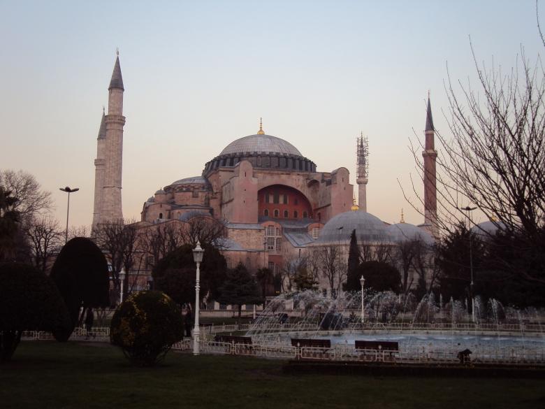 Hagia Sophia en Estambul, Turquía