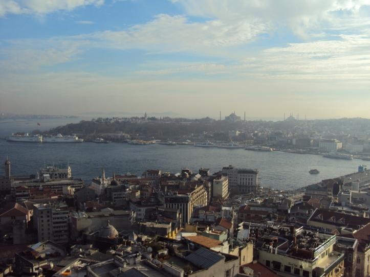 Estambul desde la Torre Gálata