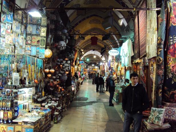 Gran Bazar en Estambul, Turquía