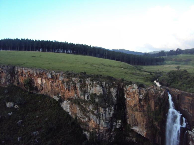 Cataratas de Berlín en la Ruta Panorama, Sudáfrica