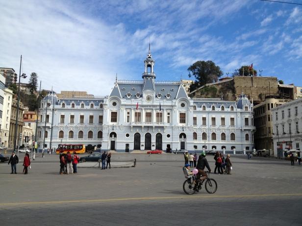 Armada de Chile en Valparaíso