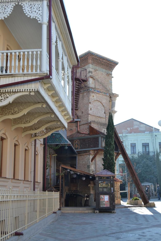 En las calles de Tbilisi, Georgia