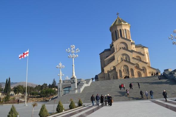 Catedral de Sameba en Tbilisi